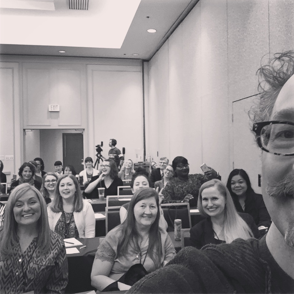 """These nice people attended my AFP Utah Fundraising Day workshop. I bet they're still singing """"Red, Red Wine."""""""