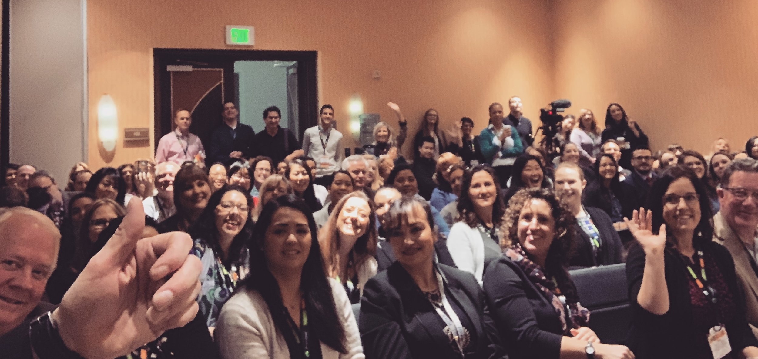 I'm deeply grateful to the SUPER AMAZING group who joined me for my Supercharged Storytelling workshop at the #CASEVII #ConnectWest 2019 conference in Anaheim. You know a crowd is fired up when they agree to a singalong. :)