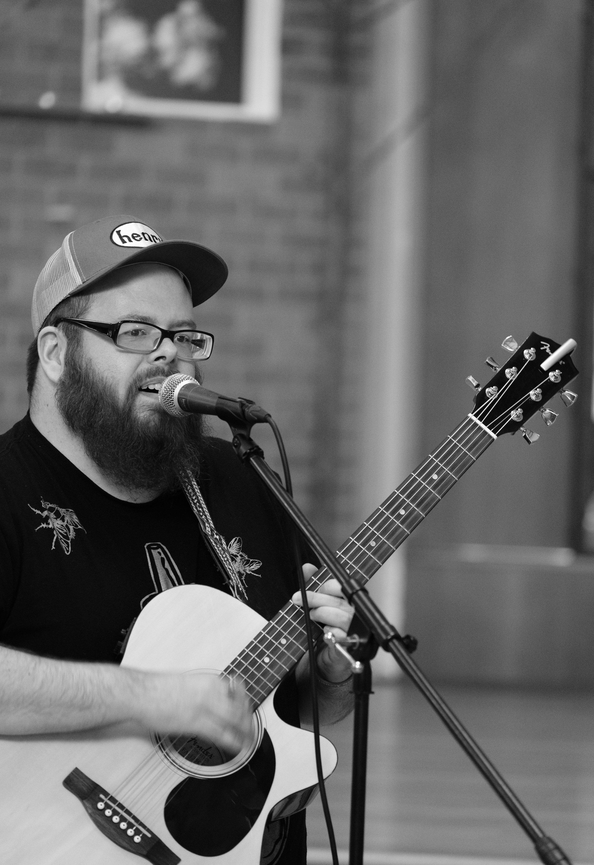 David Johnson, Sanctuary Stage, Seattle Acoustic Festival, August 2017.