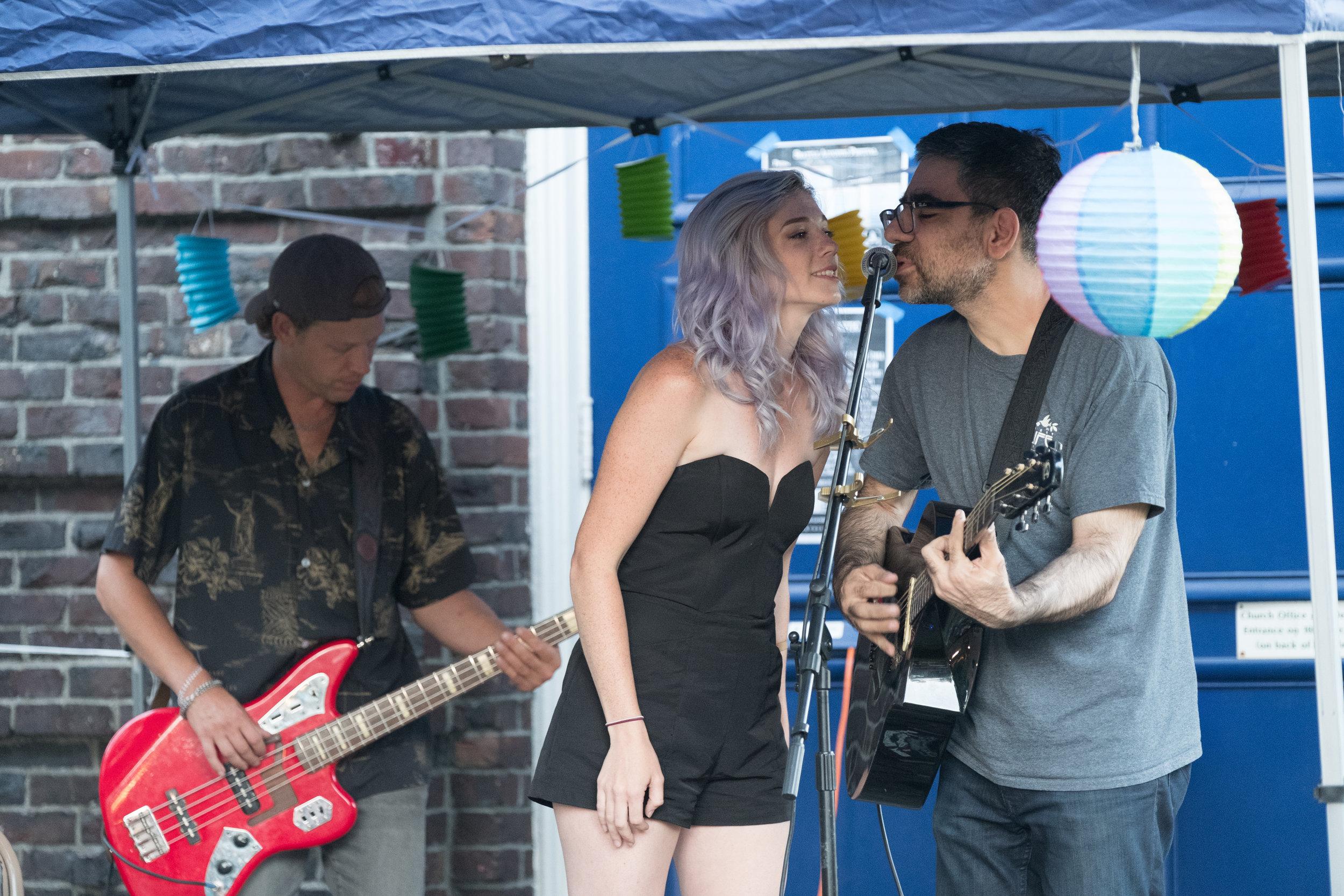 Tobias the Owl, Seattle Acoustic Festival, 26 August 2017.