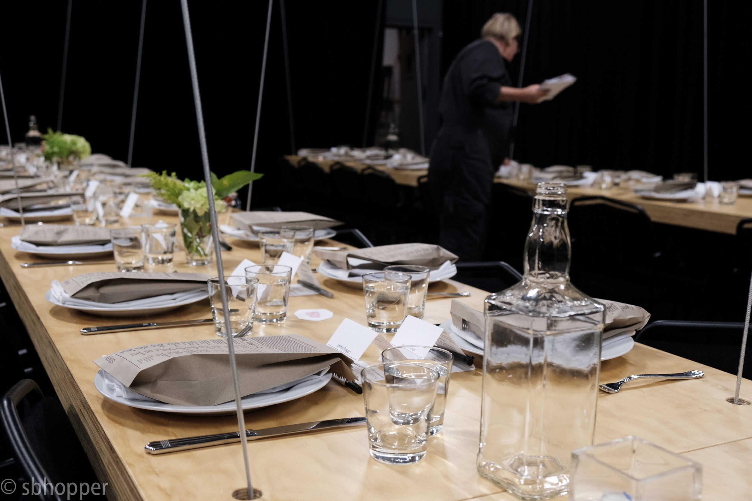 Final Preparations, On the Boards Studio Supper 28 September 2017.