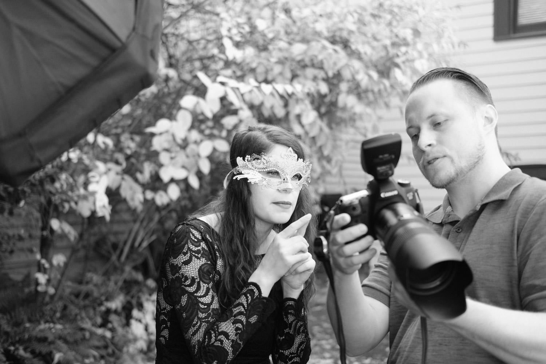 Tony Hammons and Heather Edgley.