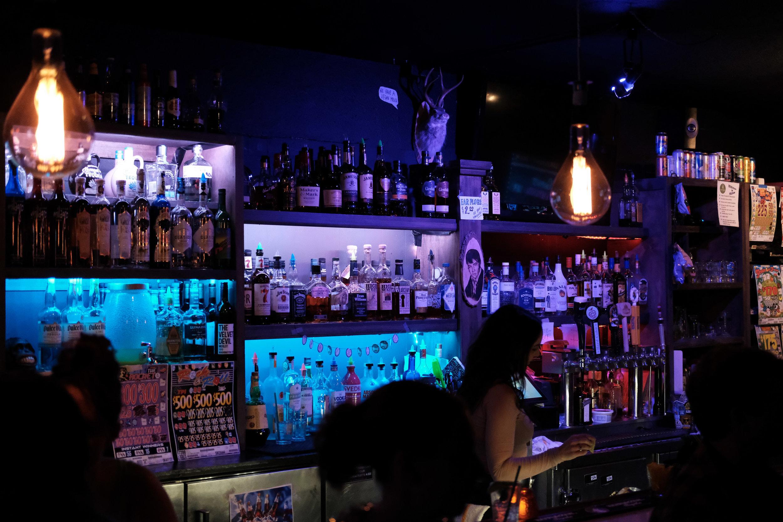 Tim's Tavern, Seattle, 24 November 2017.