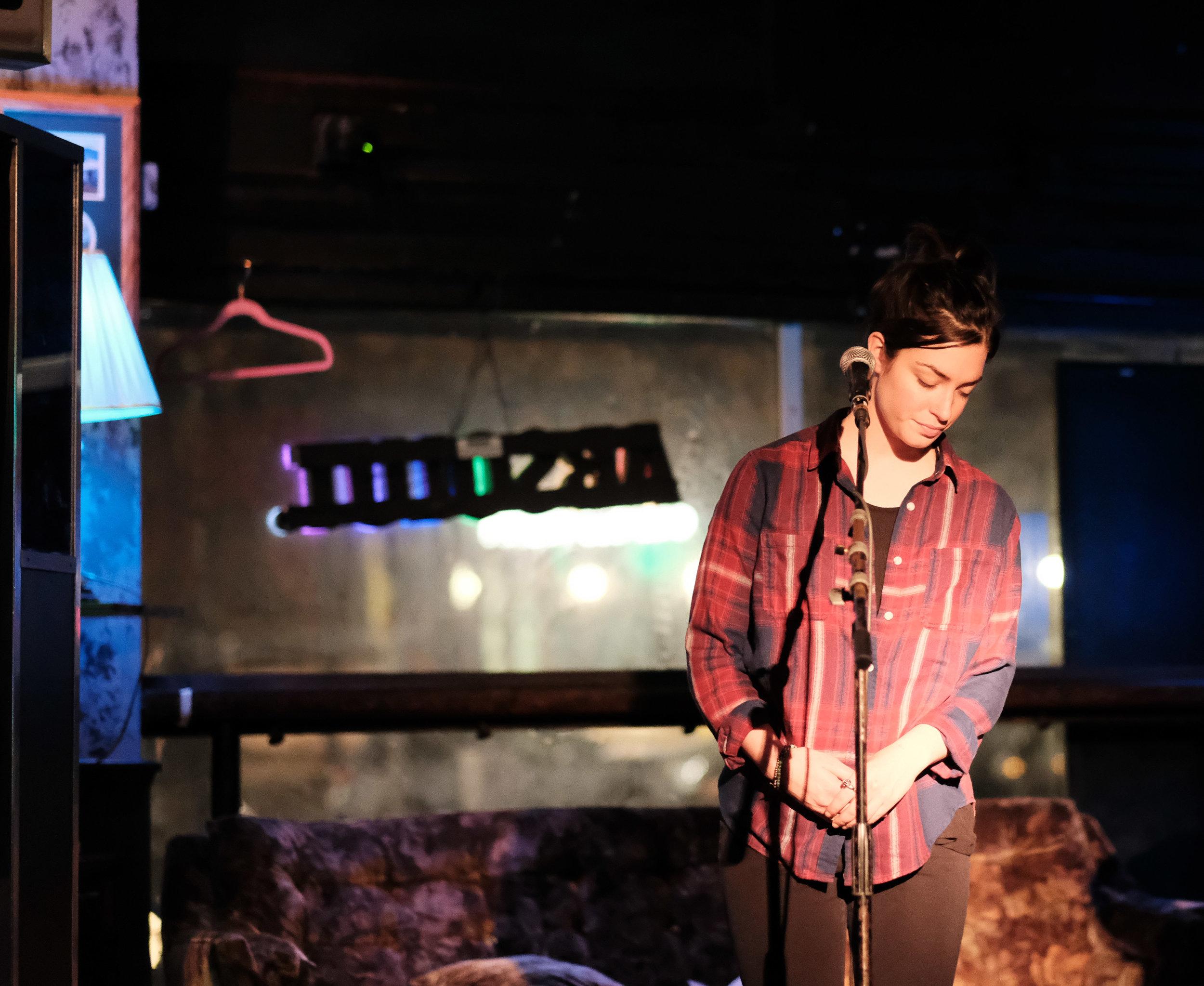 Hannah Abrams, Chop Suey, 21 November 2017.