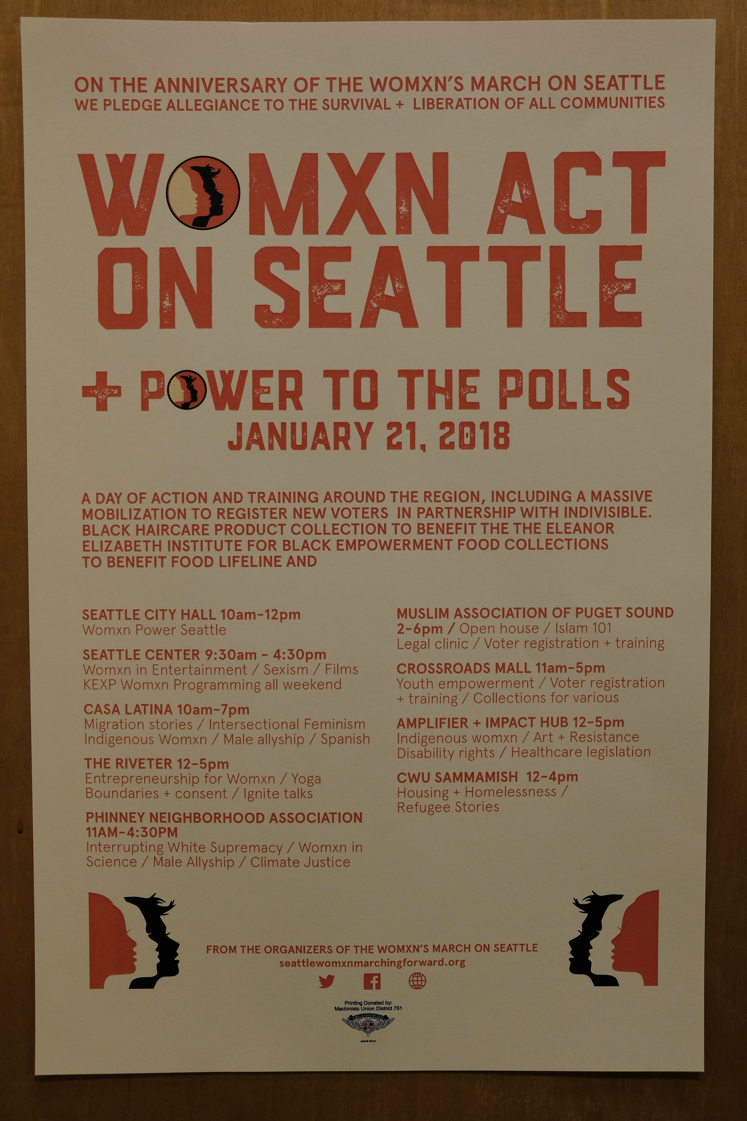Women Act on Seattle.