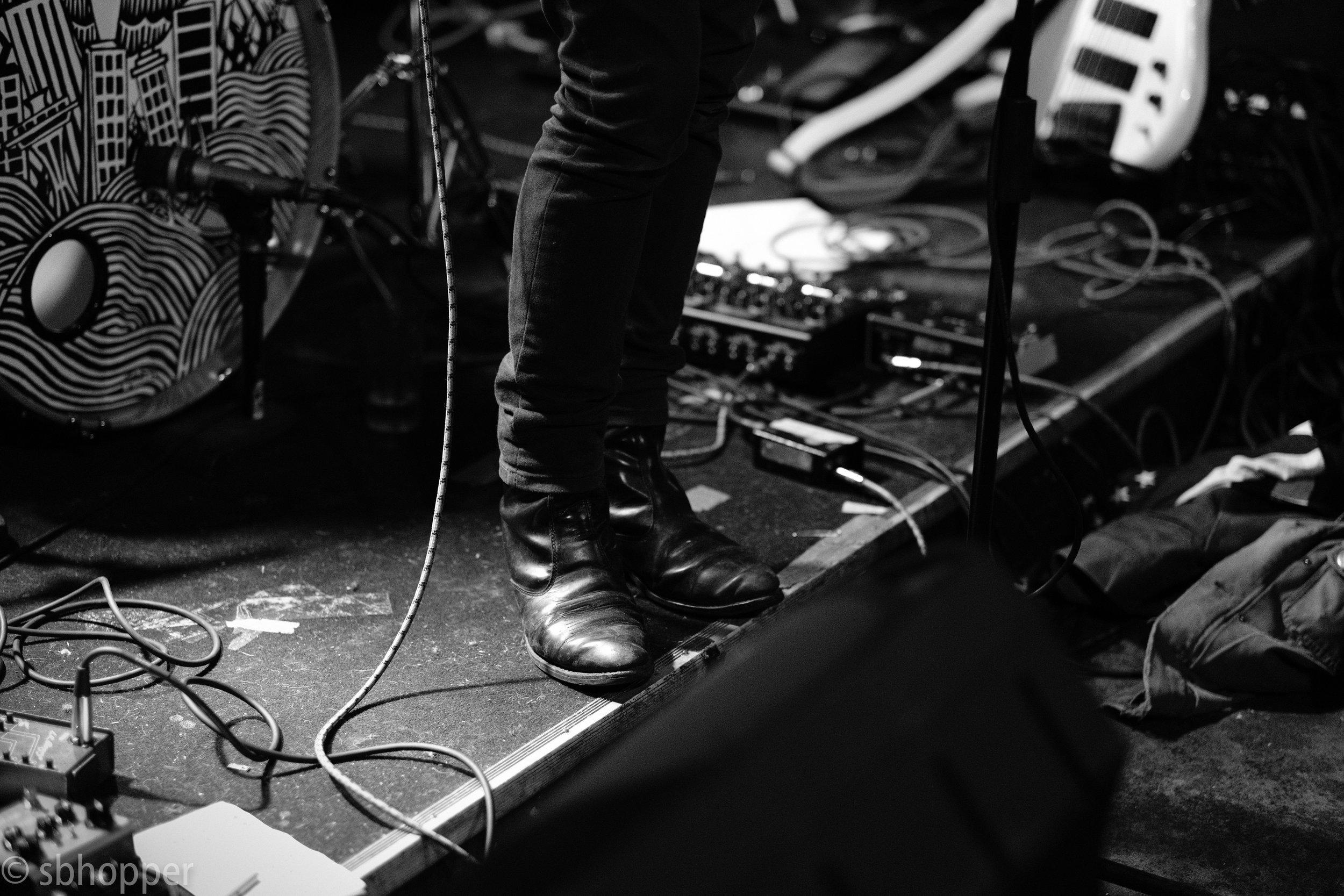 Roselit Bone at Tim's Tavern, Seattle, 27 January 2018.