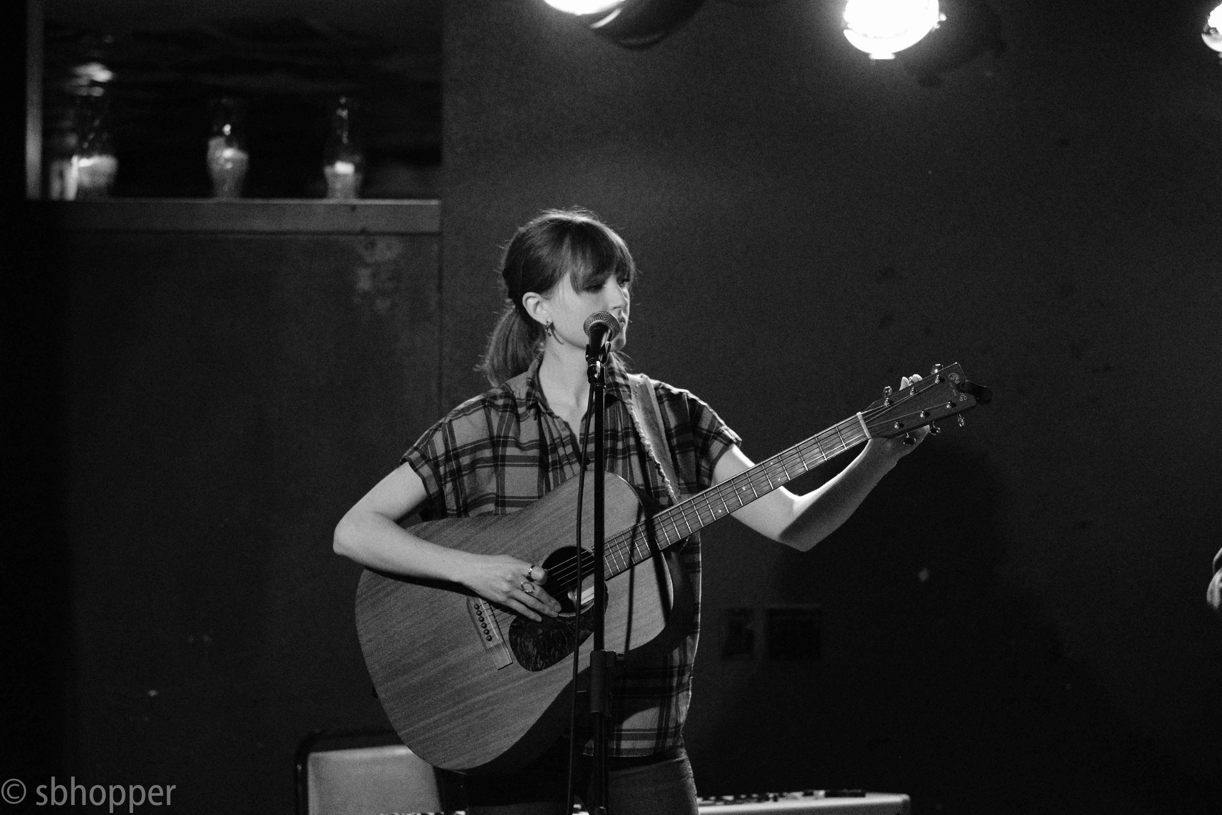 Lizzie Weber, Tim's Tavern, Seattle, 1 February 2018.