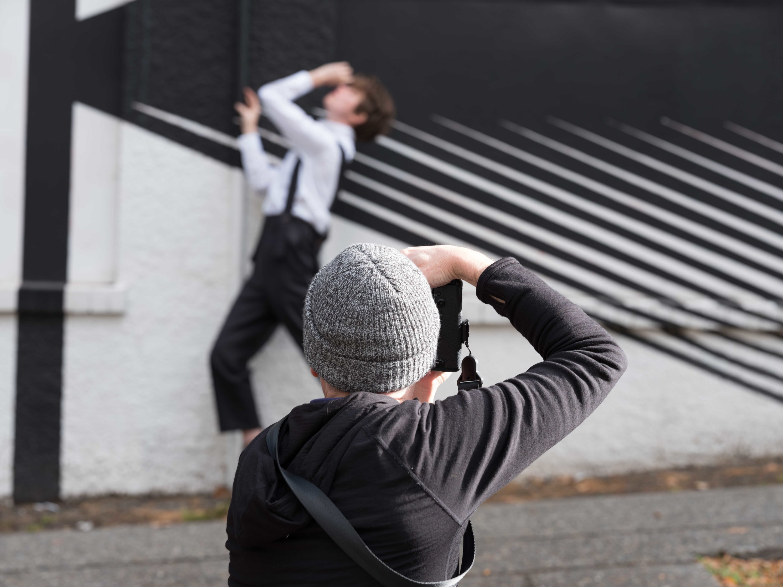 Behind the Scenes at our photoshoot with   Julia Cook  and  Brent Martin . (Note from Scott: If you're looking for a professional, smart, funny, hard-working model/writer in Seattle, look no further. If you need a stylist and fashion expert who also has a great eye for photography, contact Brent.)