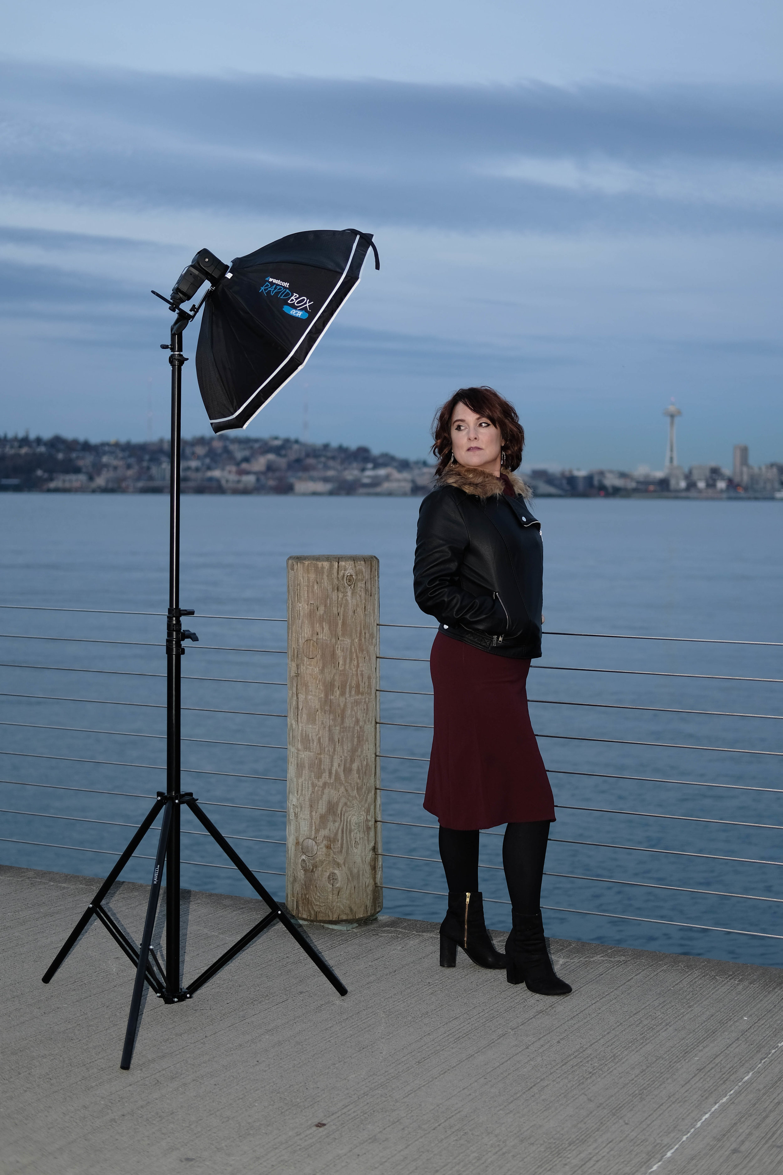 See, I told you she killed it. (Behind the Scenes at a photoshoot with Kristin Chambers, Seattle.)