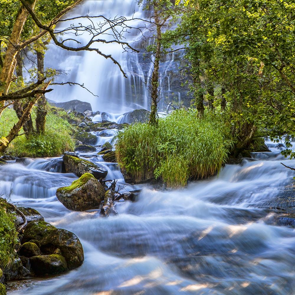 Waterfall Near Geirangerfjord, Norway - Resized.jpg