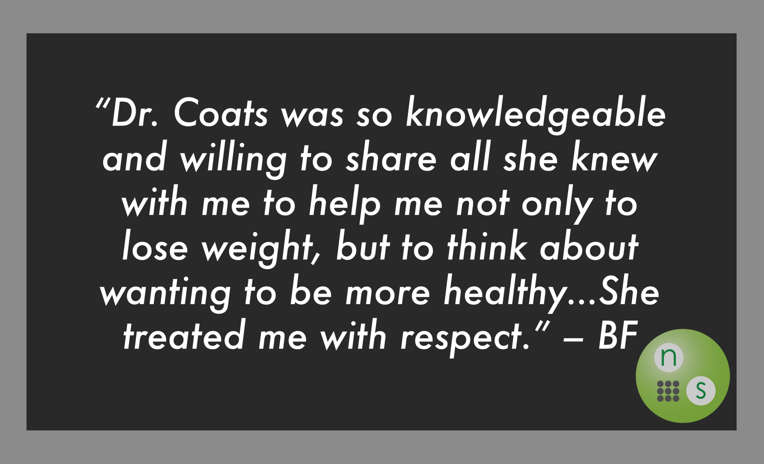 Dr.-Coats-helped-to-be-healthy-testimonial-naturopathic-specialists