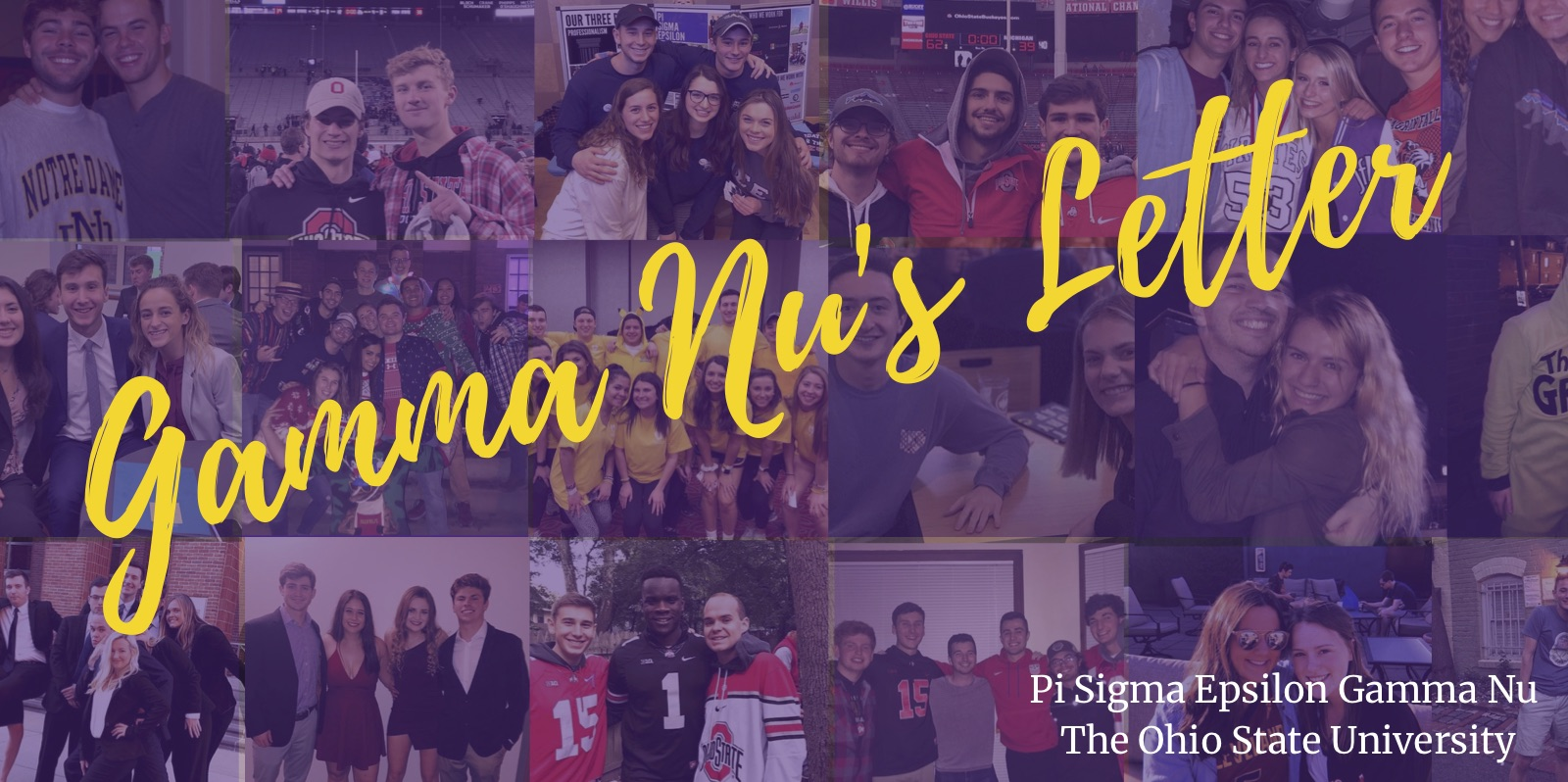"""May 2019 - School is out, and our bi-annual review is in! Learn more about all the """"hi's"""" and """"goodbye's"""" our chapter made this semester in this issue!"""