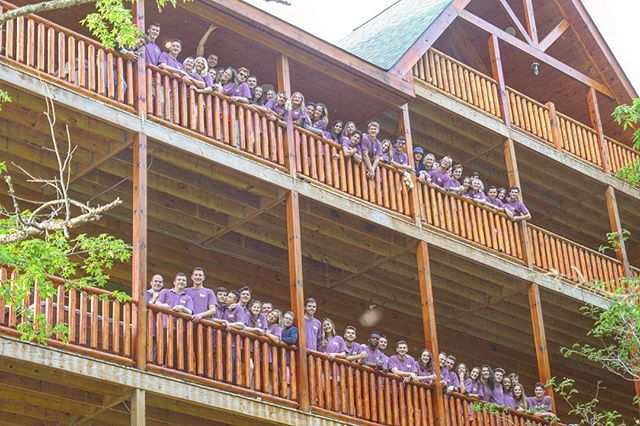 We've just been hanging out with 70 of our closest friends these past couple of days in Gatlinburg! What a great way to end this amazing year! See you all in the Fall!
