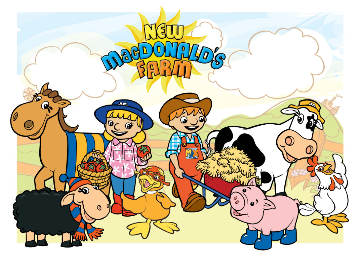 """NEW MACDONALD'S FARM"" - CHARACTERS"
