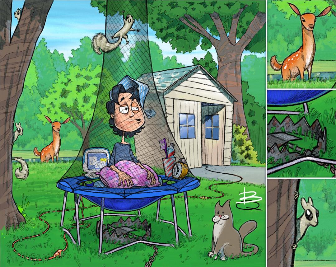 KAREN_BQ_backyard-trampoline-cubby-squirrels-deer-nutley-newjersey.jpg