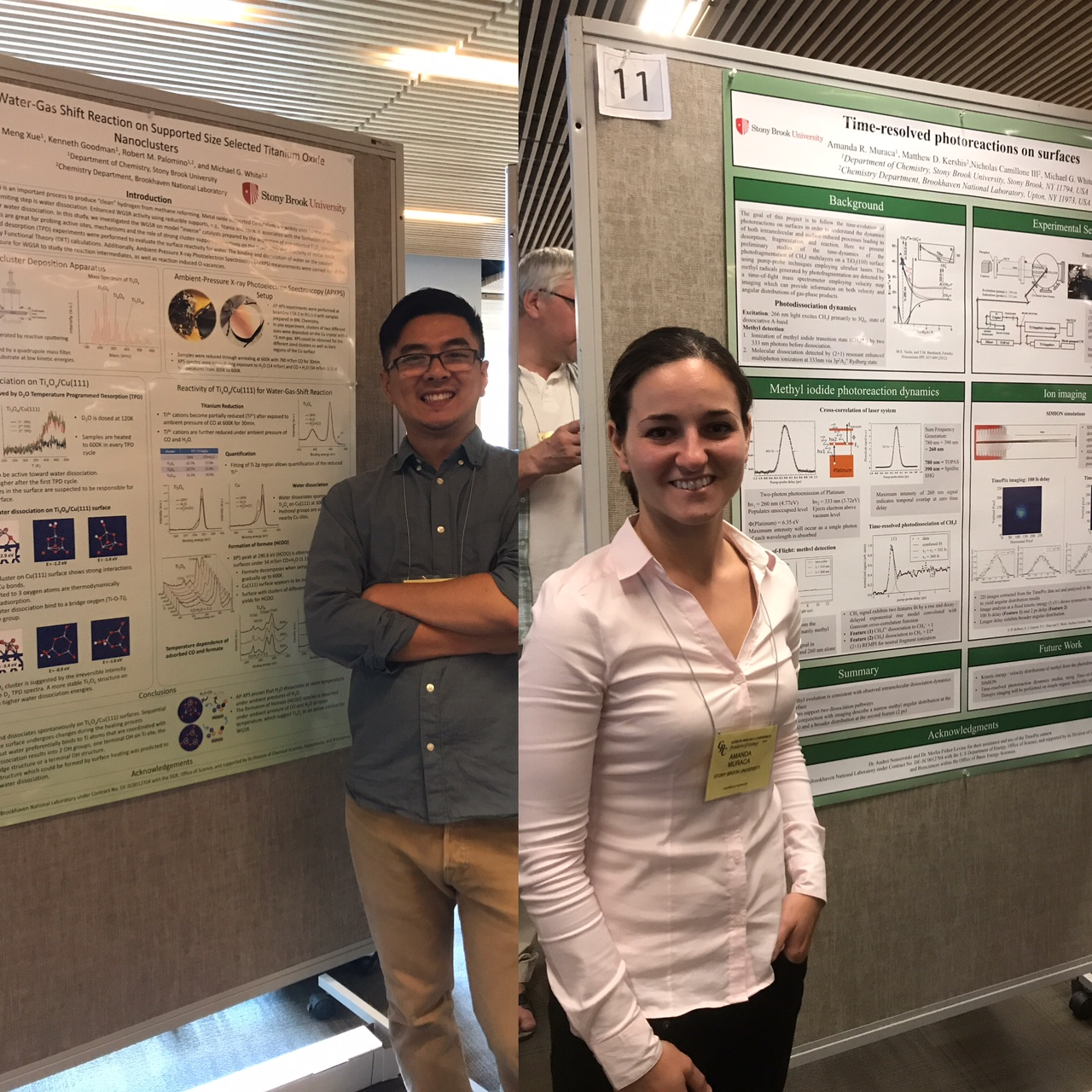 07/29/2017 - Meng and Amanda attended the Gordon Research Conference on Dynamics at Surfaces: Fundamentals of Chemical and Physical Change at Surfaces and Interfaces. This took place at Salve Reina University located in Newport, Rhode Island.