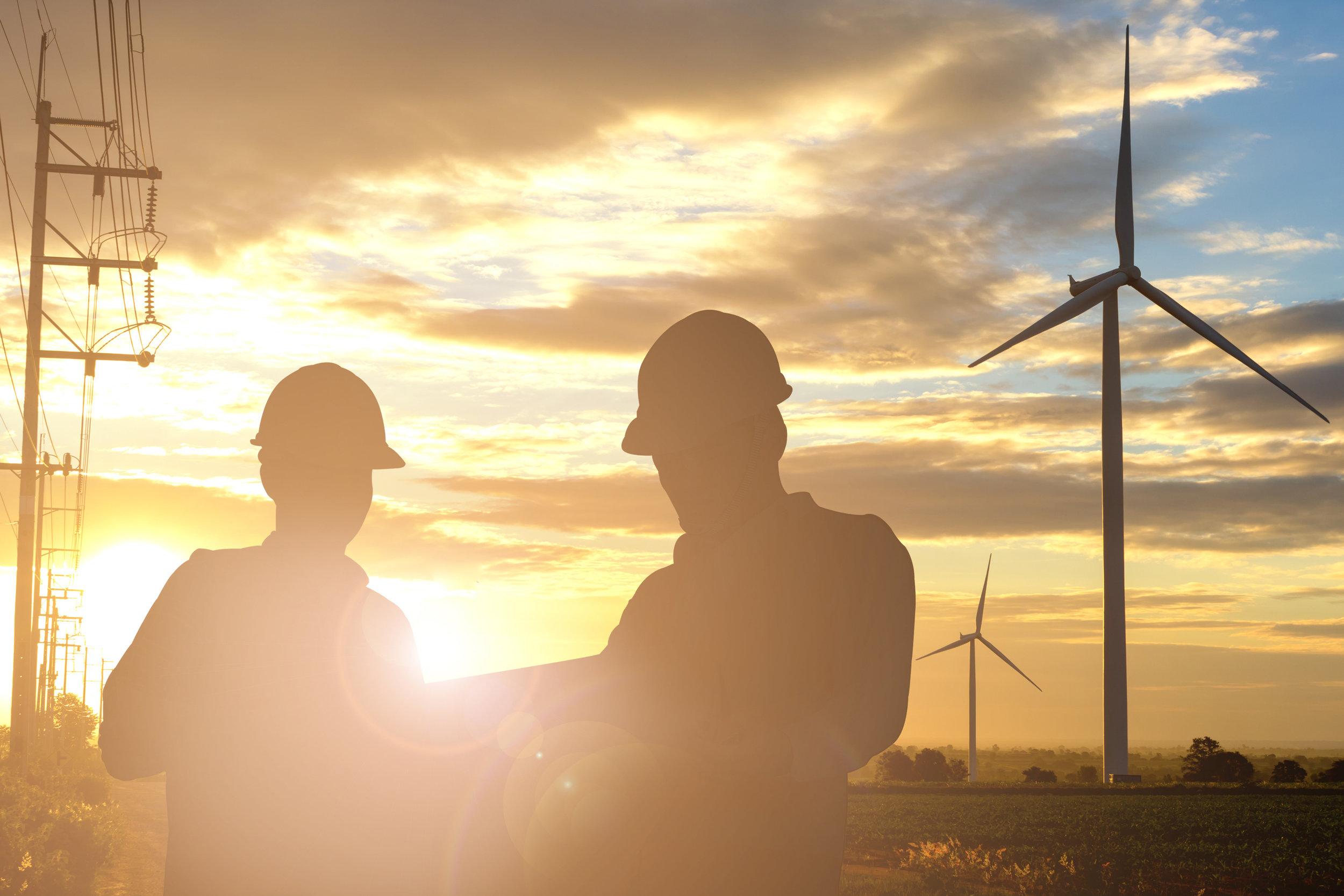 Engineers Wind Turbine - Verton
