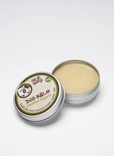 Organic dog balm by All About George