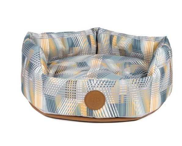 Rustic Sky dog bed by Pooky & Boo