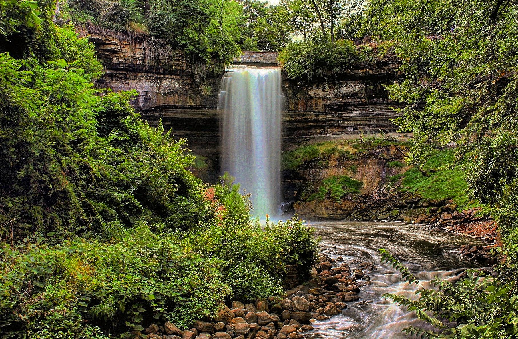 Minnehaha Falls never get old.