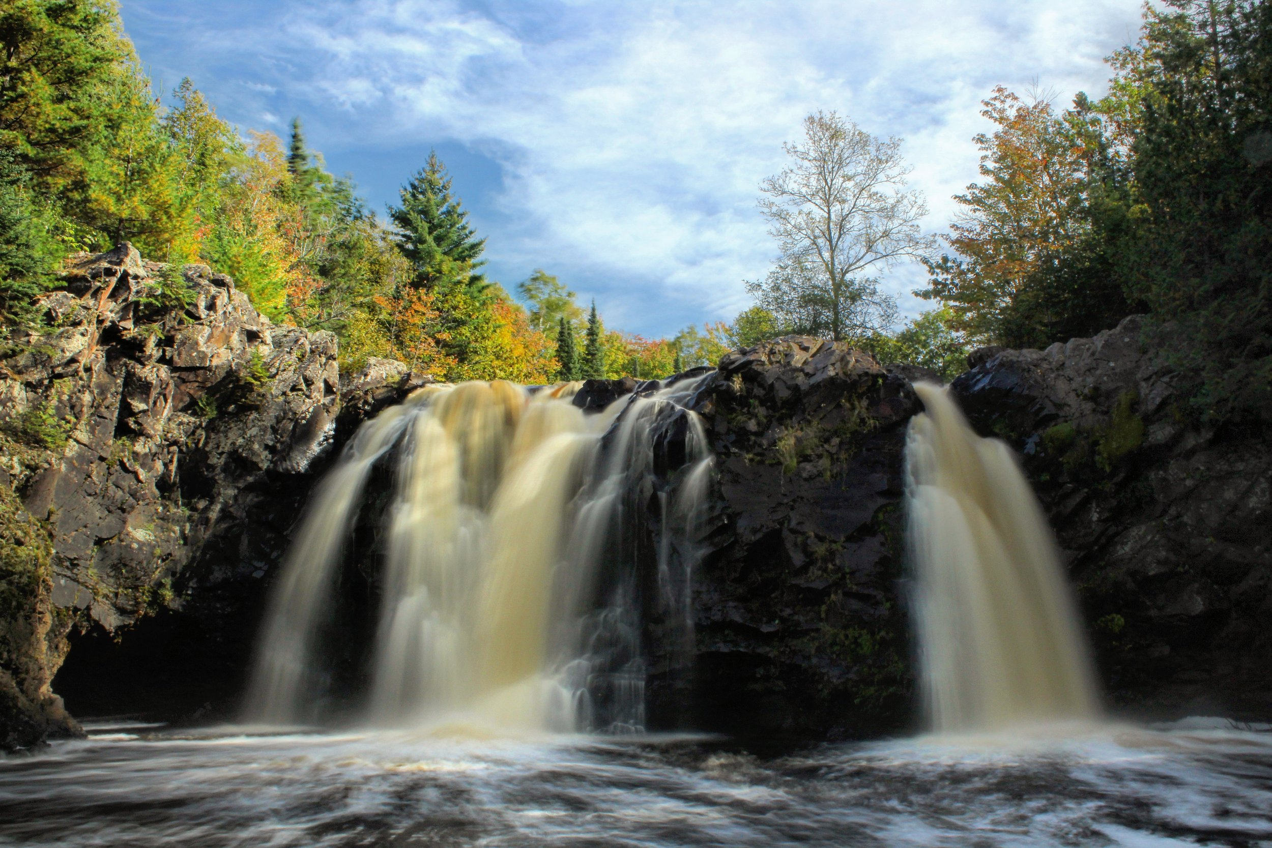 Little Manitou Falls, Pattison State Park oustide of Superior, WI