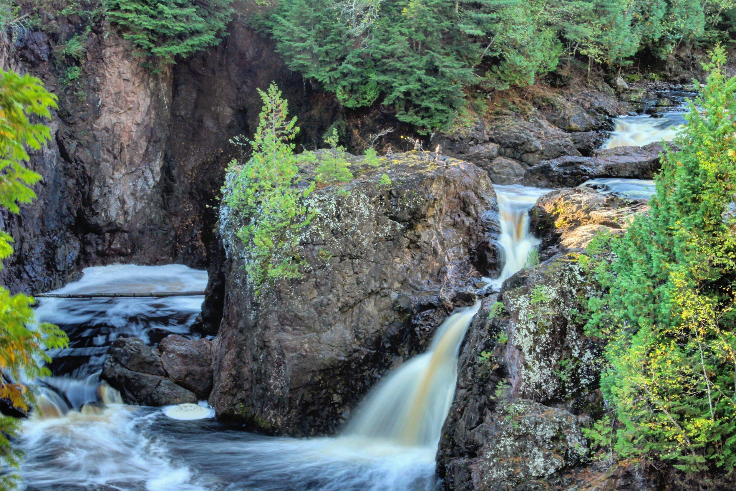 Copper Falls State Park, Mellen, Wisconsin.