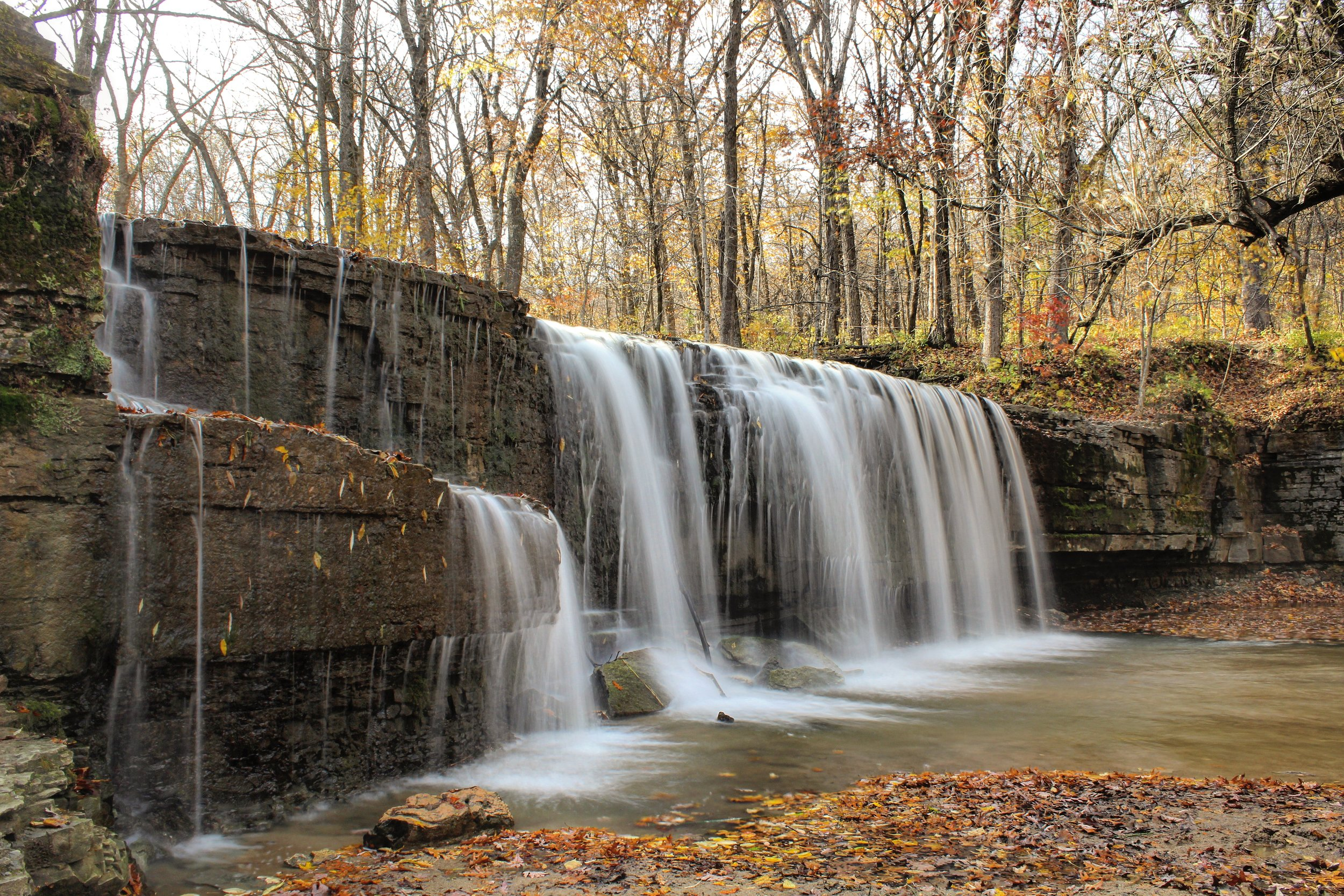 Fourth Stop: Hidden Falls at Nerstrand-Big Woods State Park.