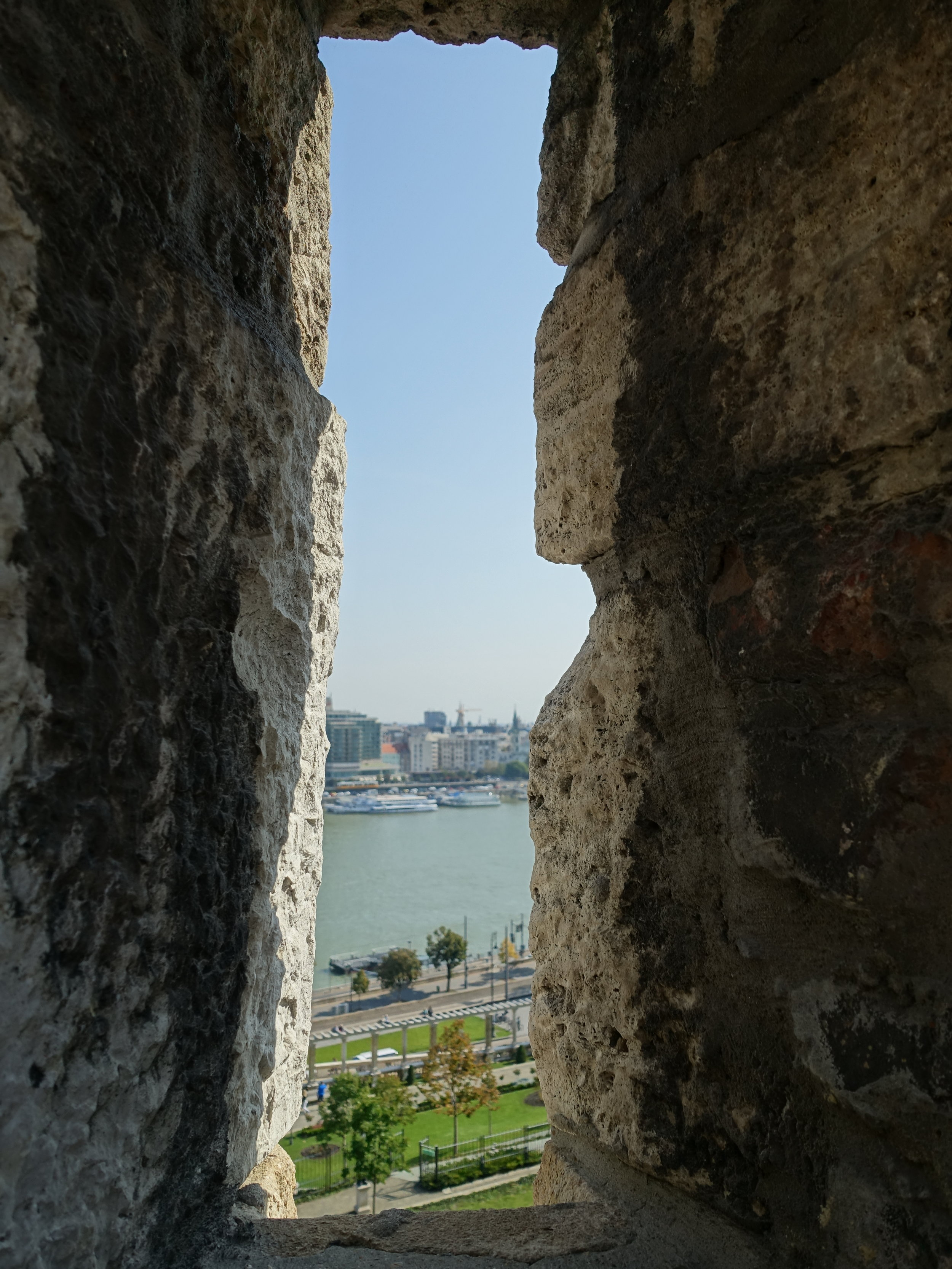 View from Buda Castle Wall