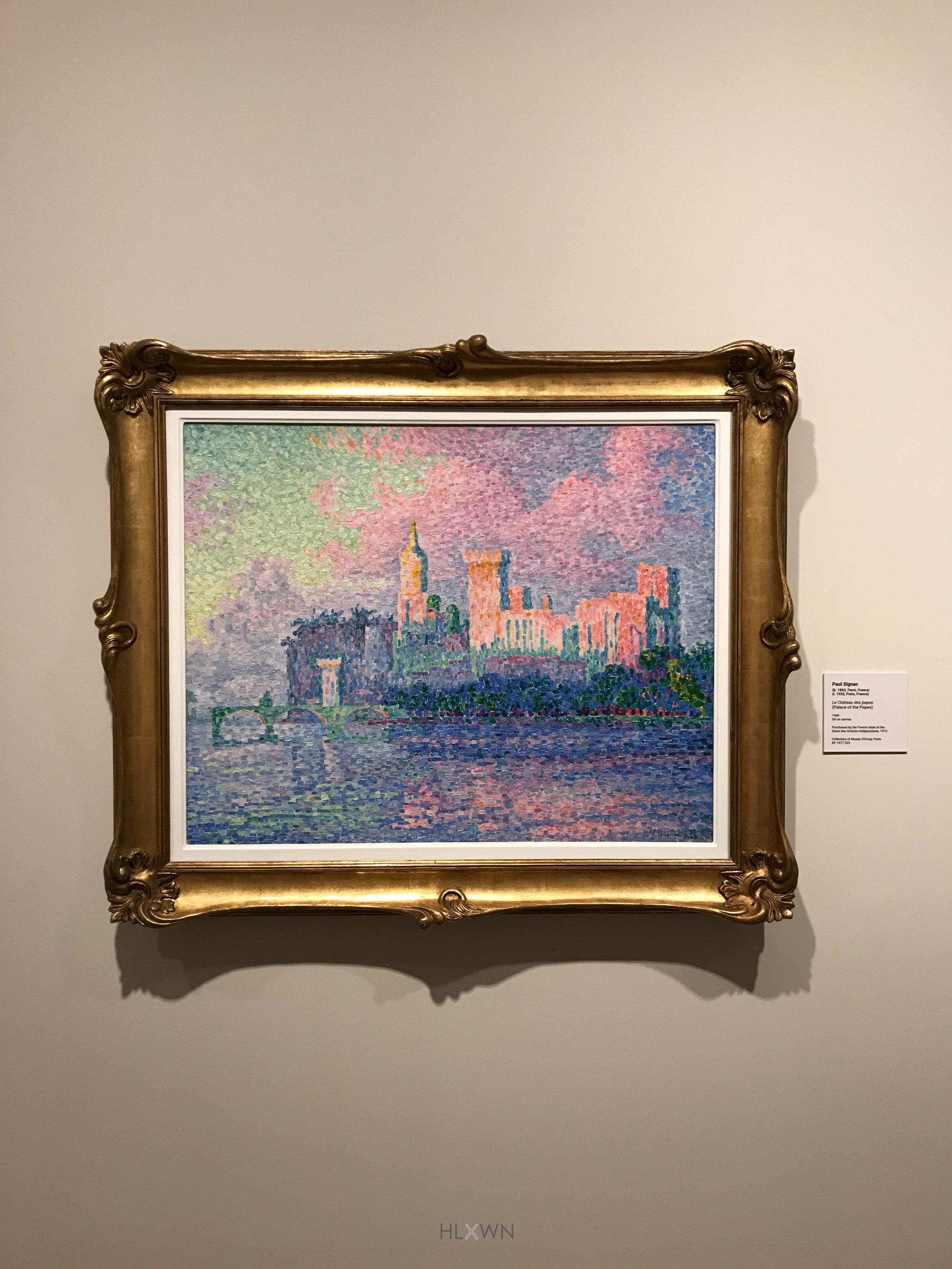 Palace of the Popes by Paul Signac (Pointilism)