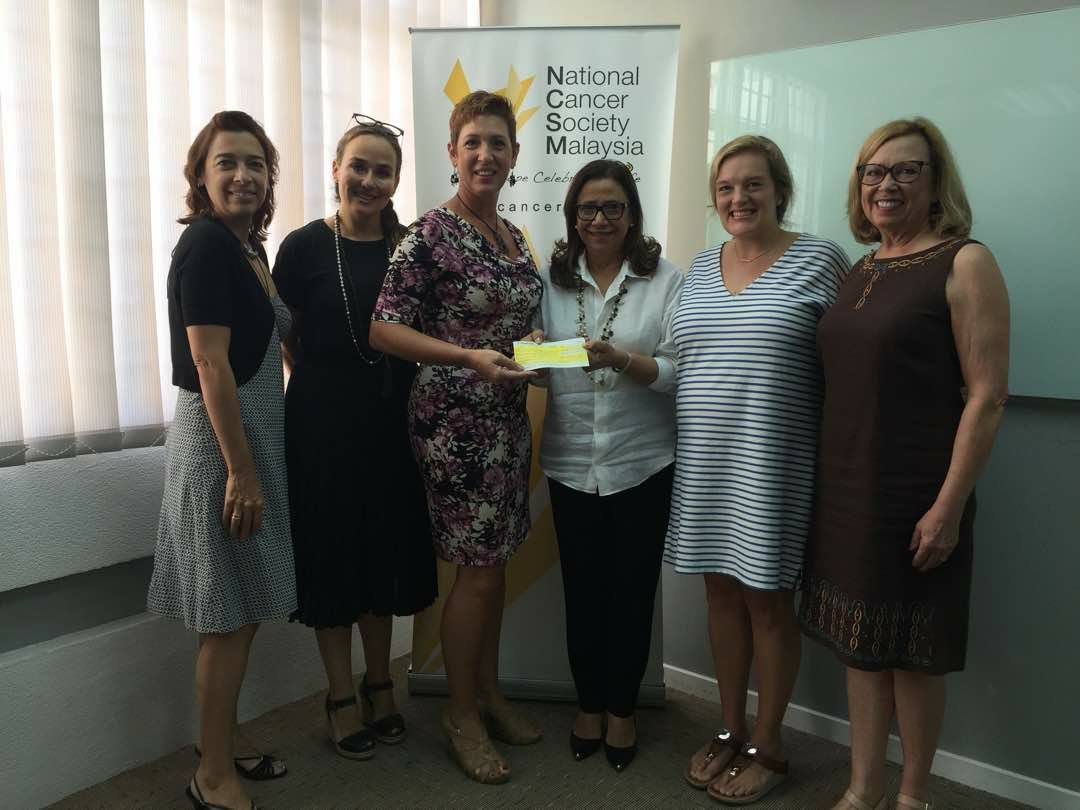 We were thrilled to donate over RM20,000 to the National Cancer Society as part of our Pink October 2017!