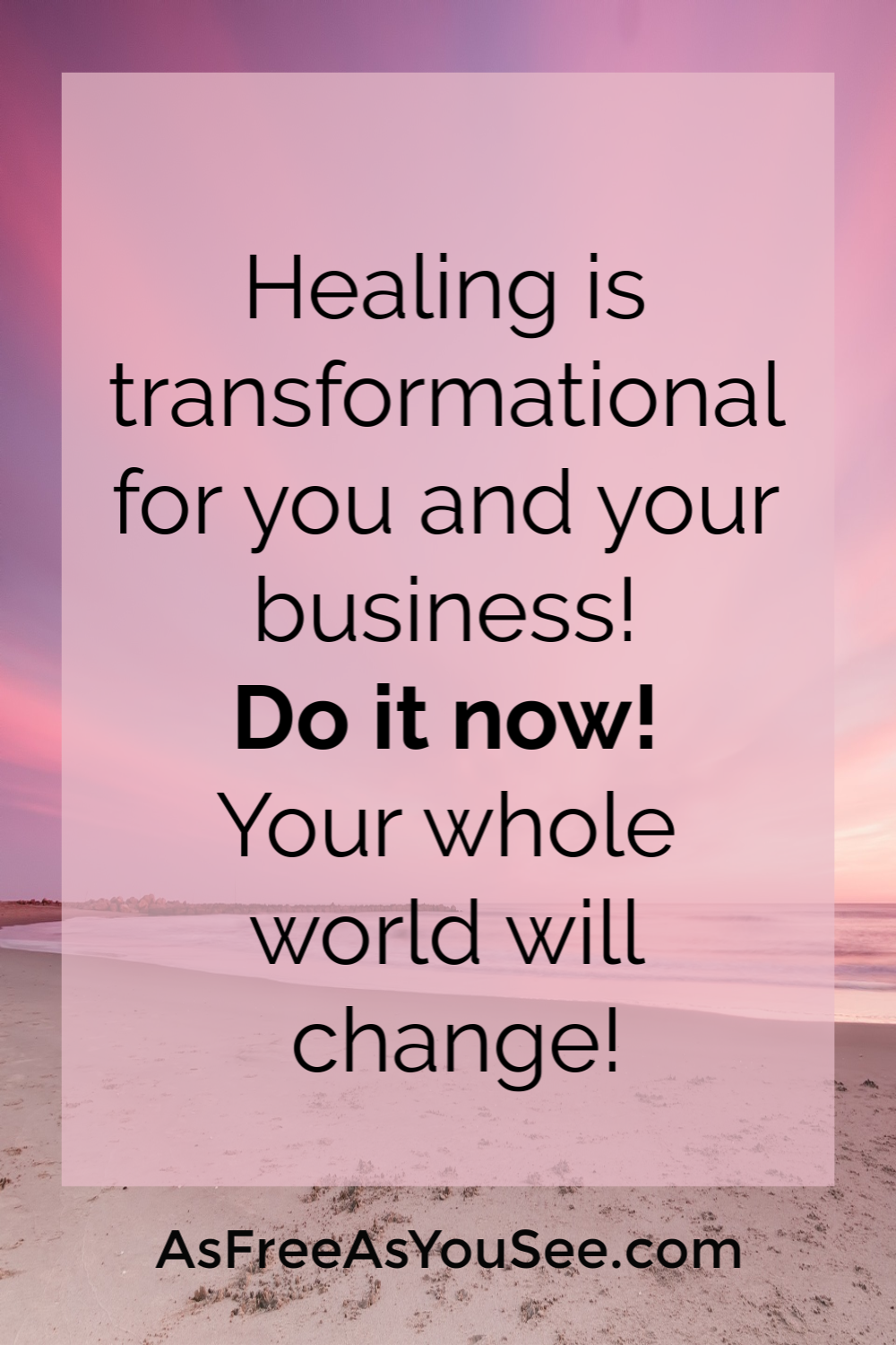 Do you struggle with showing up consistently for you and your business? The struggle is real. In this blog, dive deep in what you can do for yourself that also transforms your business. Get 3 tips on what happens to your business when you heal. Plus how to start if you can't invest and what to search for when you can invest. Healing is the name of the game, and you can find out why with this self-help blog. Read the blog and let go of your fears today.