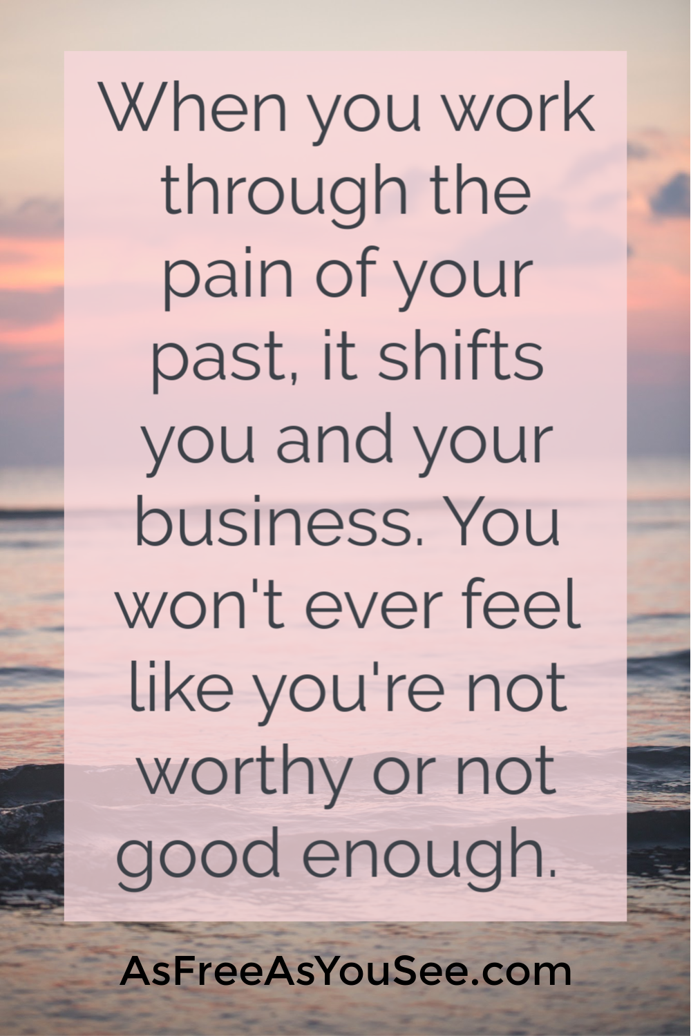 Are you blocking your own success because you don't feel like you're good enough, or you don't deserve it?  This healing self-help blog provides 3 ways you can start to heal your self-worth today and start making more money and up-level. Let go of imposter syndrome and drive your business to the top by healing your self-worth.  Check out the blog today and download the free breakthrough guide!
