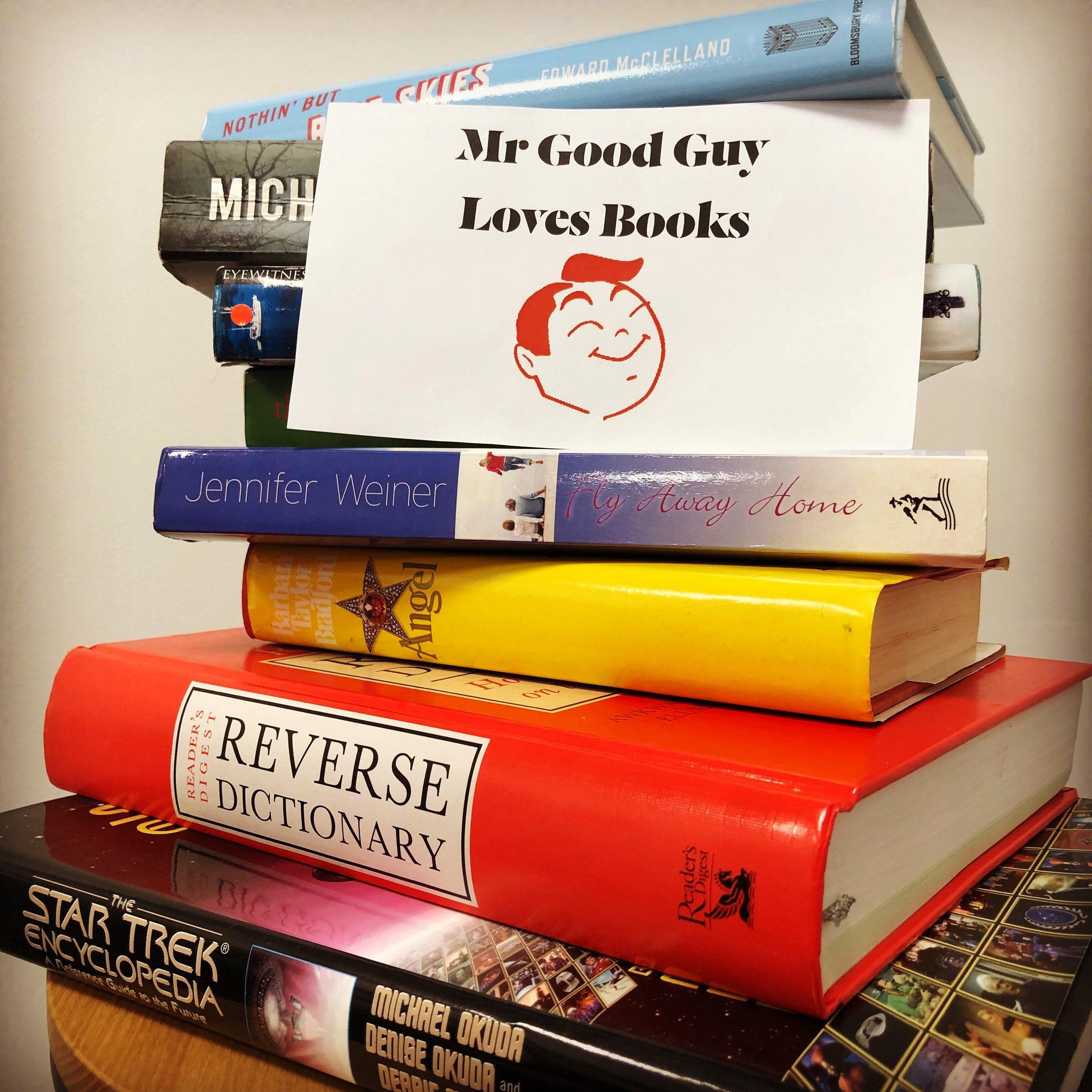 Mr Good Guy Hobart Restaurant- Book Exchange