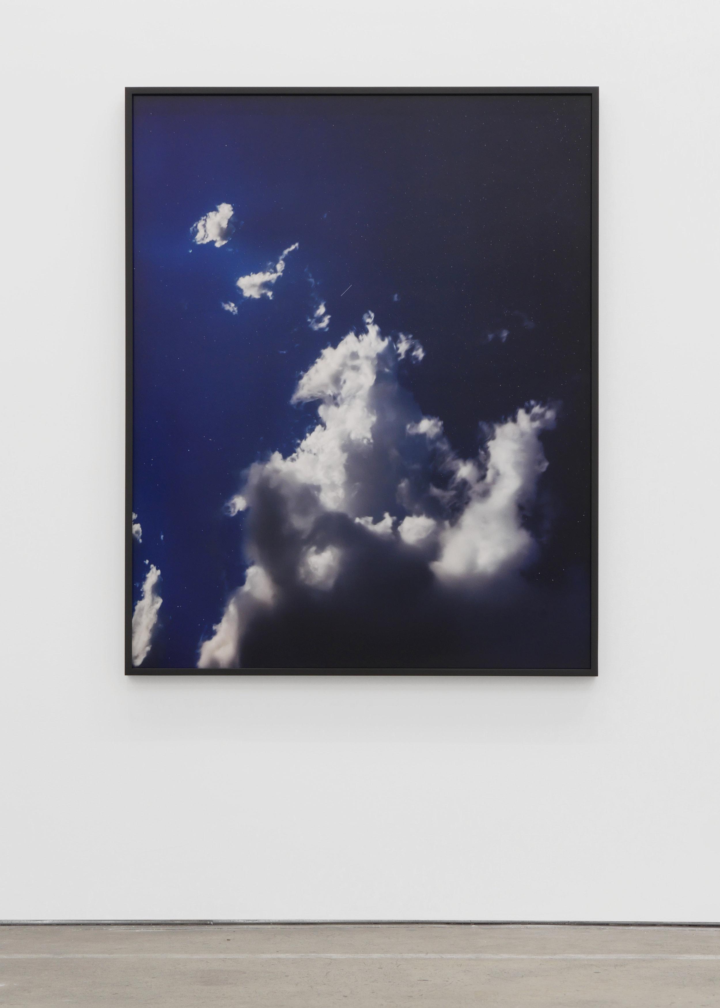 Trevor Paglen,INTRUDER 12A in Vulpecula (Ocean Reconnaissance Satellite; USA 274), 2017; dye sublimation print, white semi-matte. 60 x 48 in.