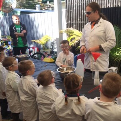 Future Scientists in Children's Science Parties