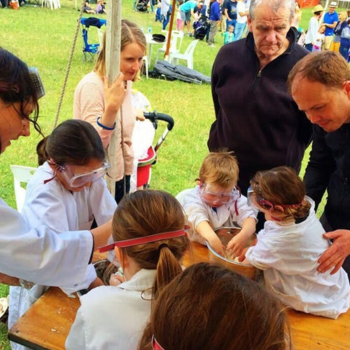 Fascinating Magic's in Kids Science Party