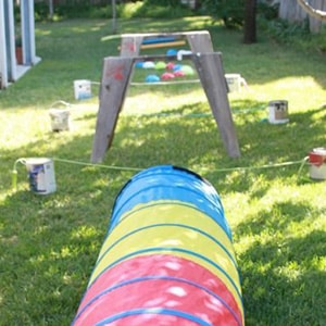 Interesting Outdoor Challenges in Kids Challenge Party