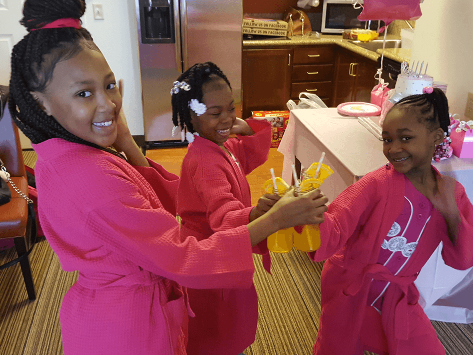 Pamper Party For Girls Kids