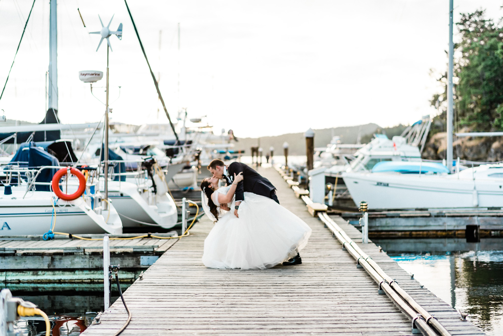 Wedding Photography in Victoria BC Poets Cove Pender Island