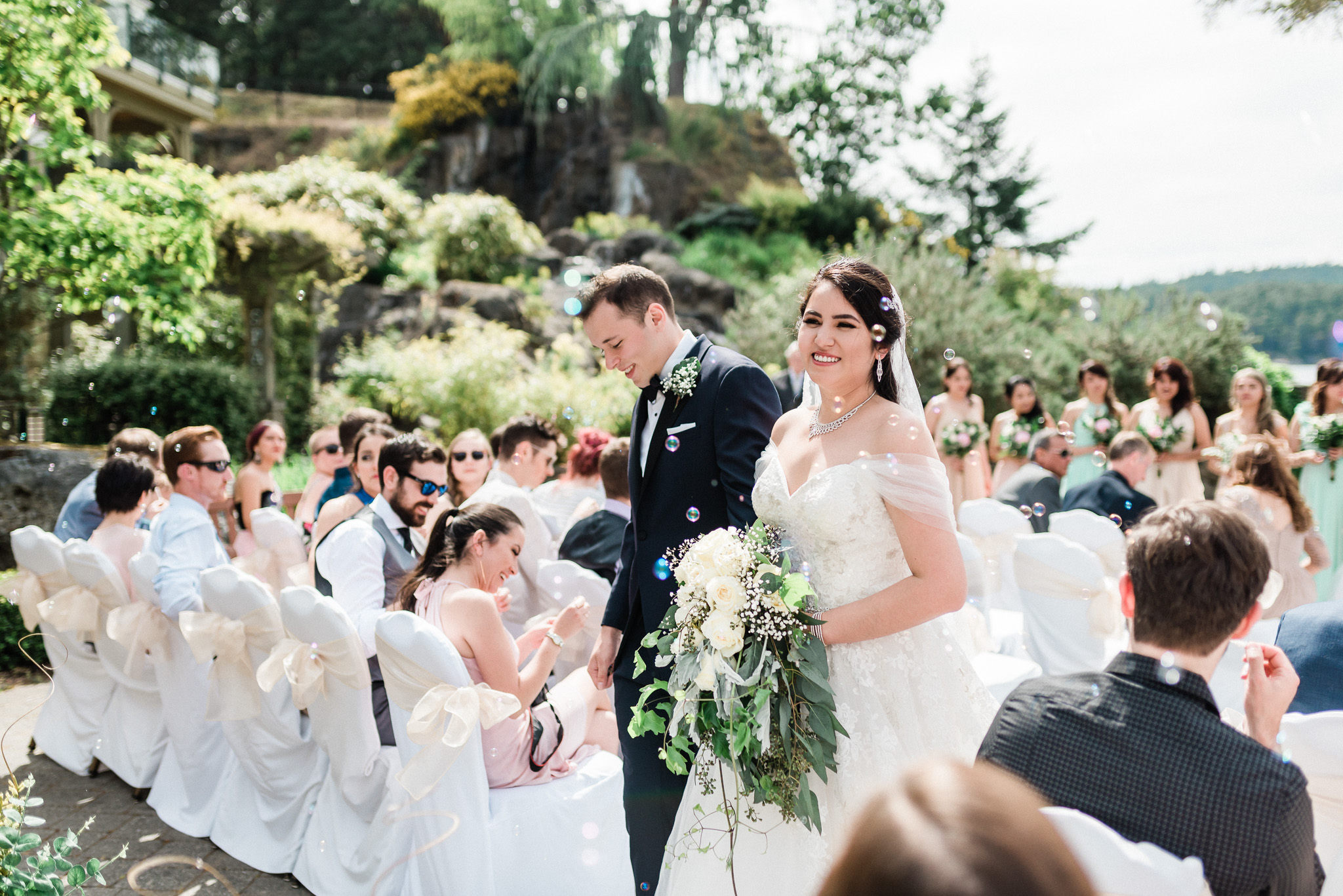 Wedding Photography in Victoria BC Poets Cove
