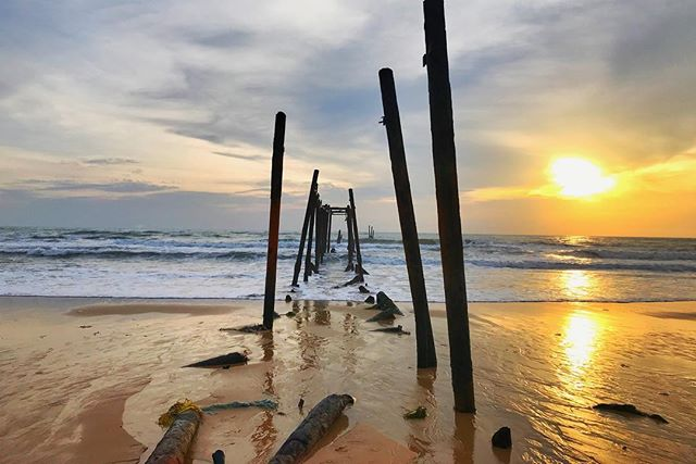Take a walk and explore the beautiful sunset of Natai Beach where @twin.villas.natai sits. Twin Villas Natai has 5, 7 or 10 bedrooms, fully staffed with Australian Manager in a luxury beachfront villa starting at 1150++ USD. www.twinvillasnatai.com +66 (0) 81 968 1178 for Direct bookings and flexible deals until June 30, 2019. #phuket #phangnga #villa #nataibeach #luxuryvilla #beach #holiday #paradise#twinvillasnatai #nataibeach #phuketvilla #thailand #holiday #phuket #luxuryvillas
