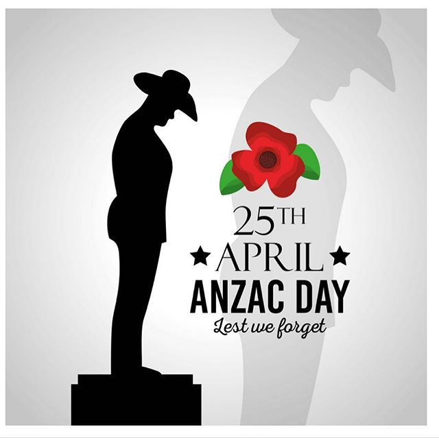 Lest we forget 🇦🇺🇦🇺🇦🇺