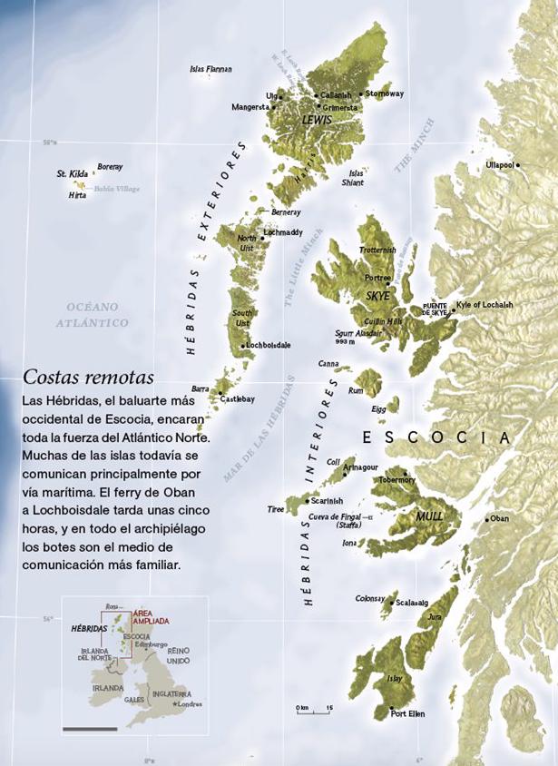 islas Hébridas, Escocia.
