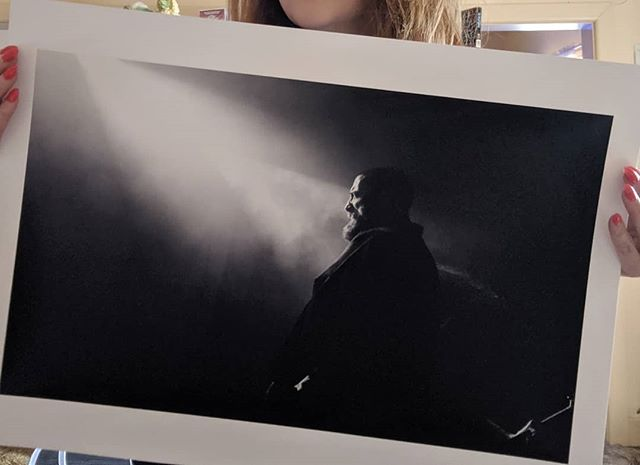The A2 print of Amenra. Photo taken in Melbourne November 2018. I try and capture emotion when I shoot, because music, and live music especially, is such an emotional experience for me. This show was extraordinary. First time seeing this incredible band and I still have a difficult time describing it. I can only hope my images convey the pained beauty of what that set was 🖤🖤 . . Link to my site with this print and more in bio. All prices are AUD 🇦🇺 . #sallytownsendphotography #amenra #livemusicphotography #liveperformance #churchofra #musiciseverything