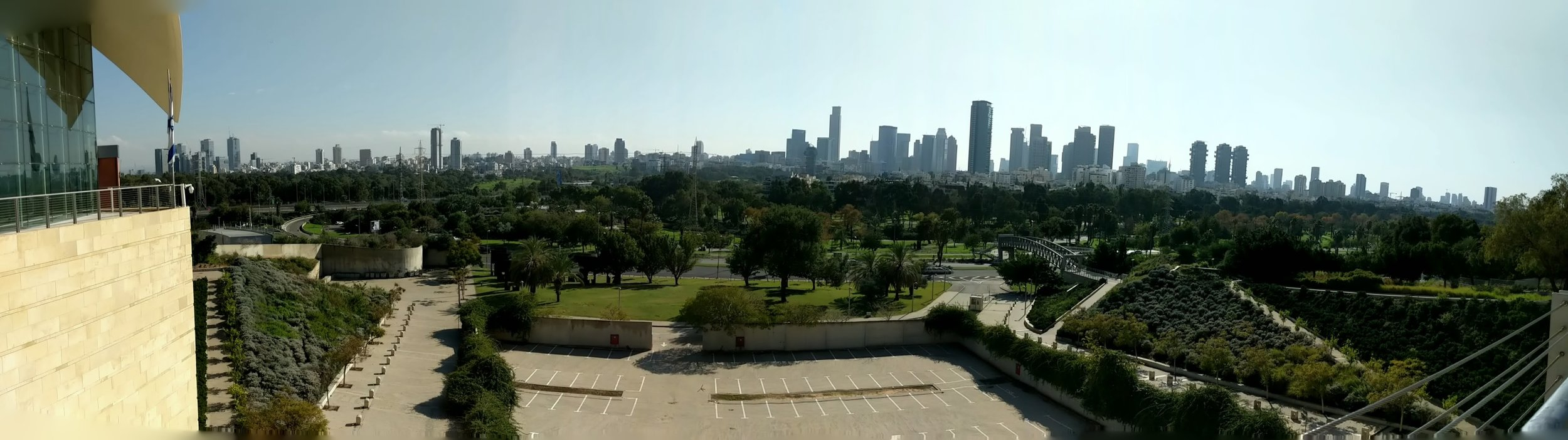 A small view of the TLV Skyline