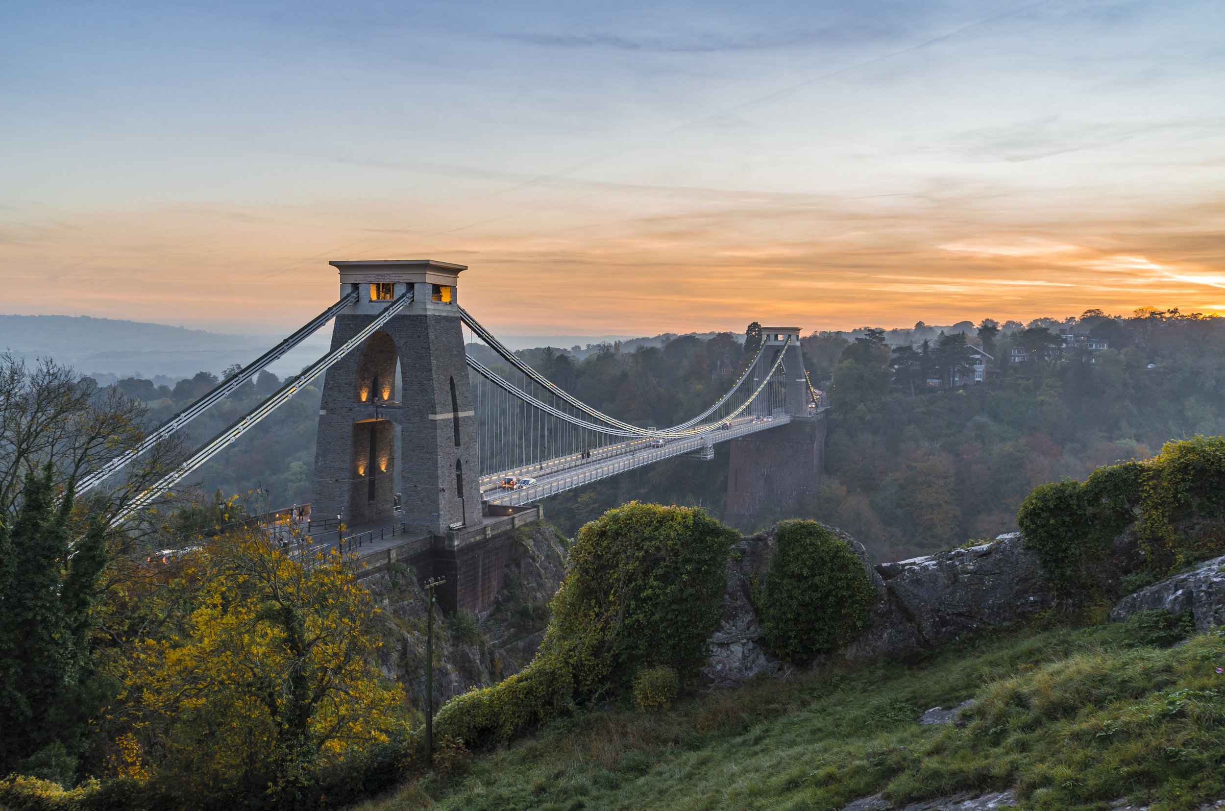 Suspension Bridge autumn sunset 2.jpg