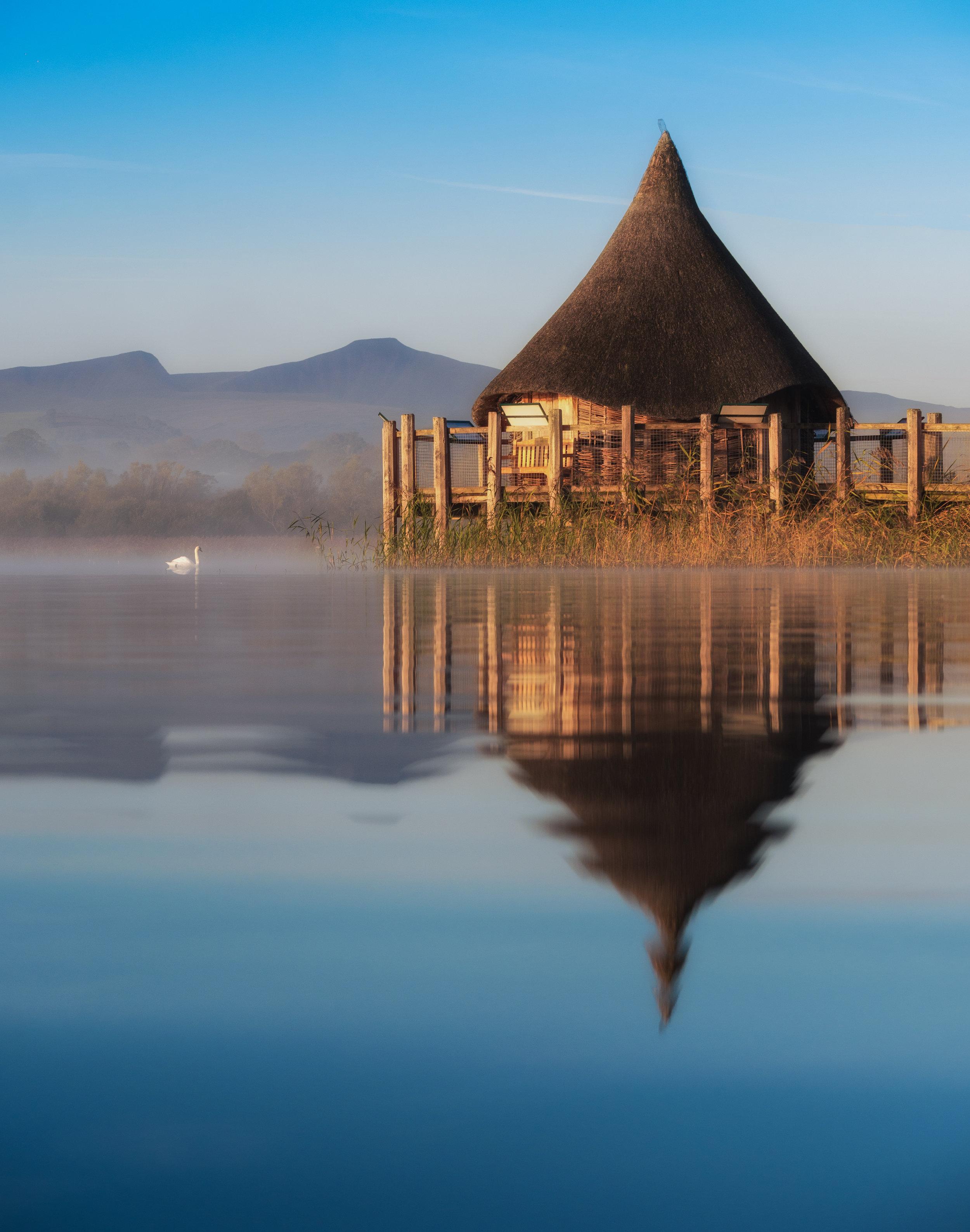 Llangorse Lake Reflections