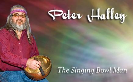 Peter Halley - Singing Bowl