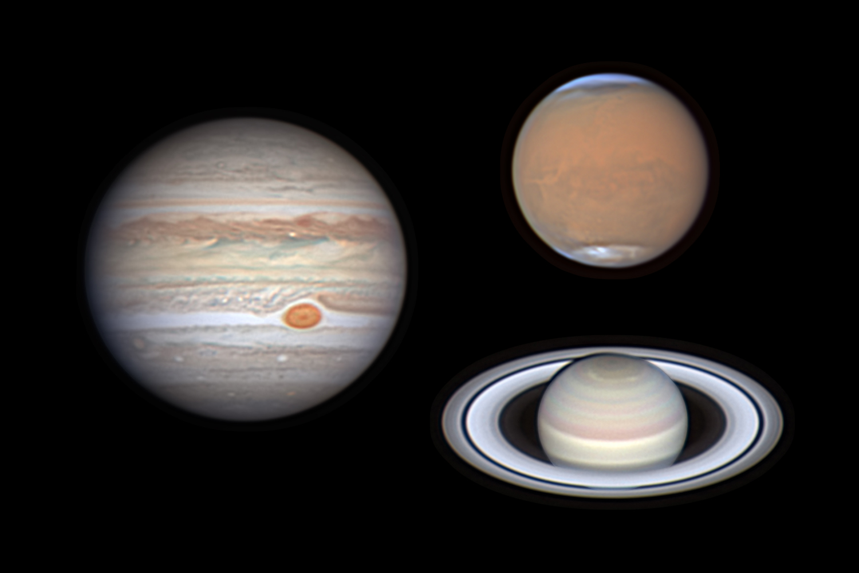 3 Planets in 1 Night - Michael Wong (Hong Kong)