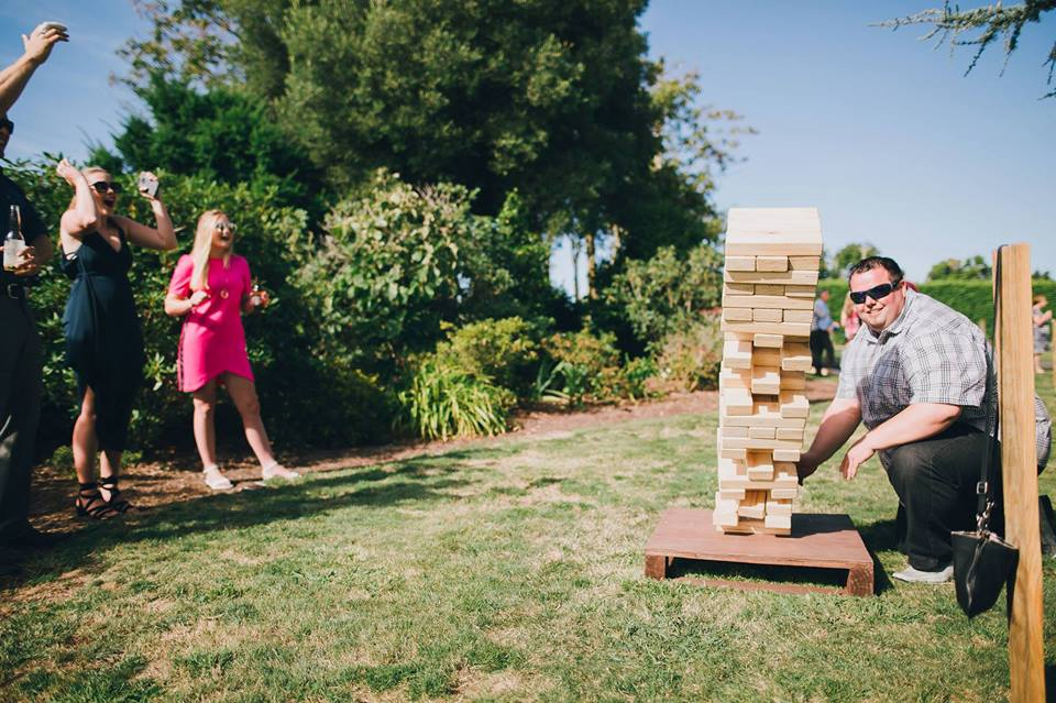 GK Events Hire Giant Games Colossal Jenga